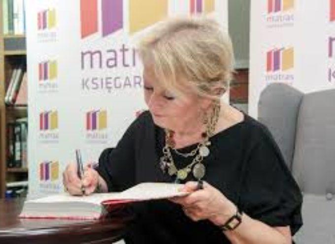 Aktorka Magdalena Zawadzka w Ostrzeszowie