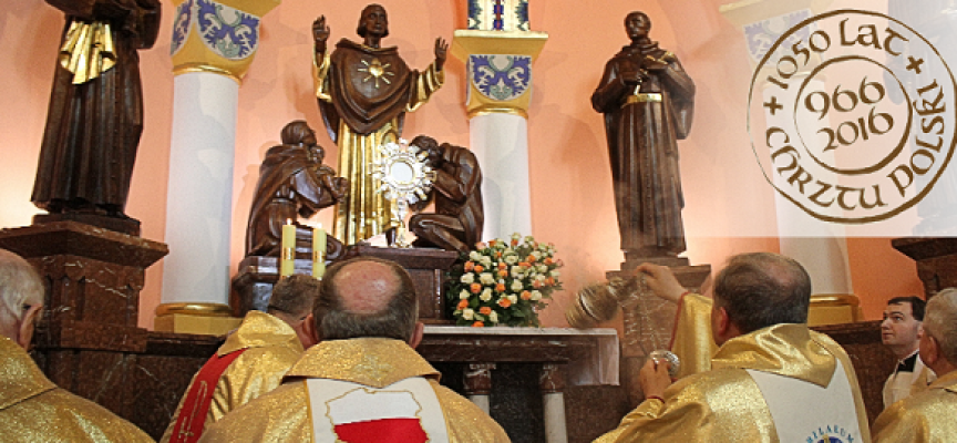 1050. rocznica Chrztu Polski w Konkatedrze