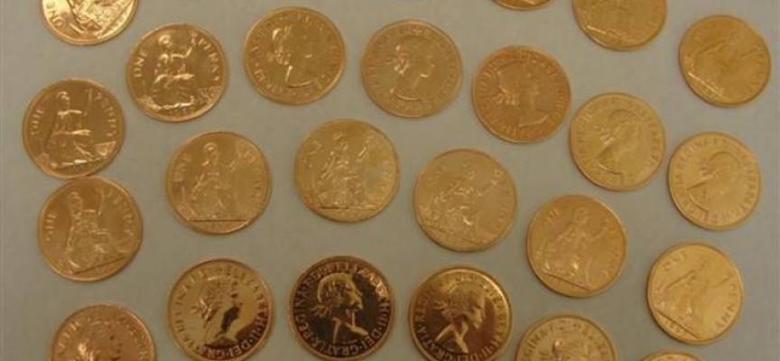 Kupił fałszywe złote monety za blisko 50 tysięcy złotych