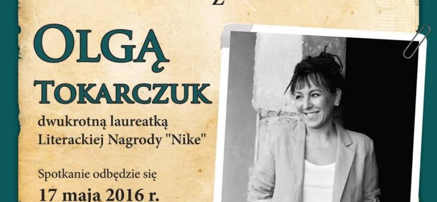 Olga Tokarczuk odwiedzi Gołuchów