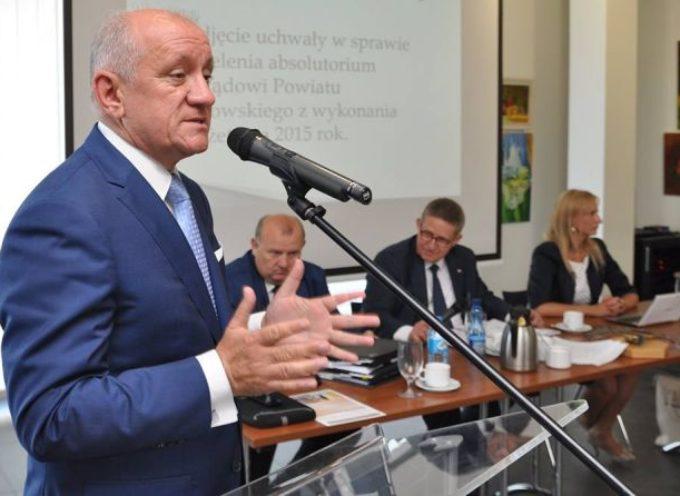 5,4 mln środków zewnętrznych w powiecie i jednomyślne absolutorium