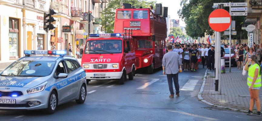 Pielgrzymi na ulicach Kalisza – przed Światowymi Dniami Młodzieży