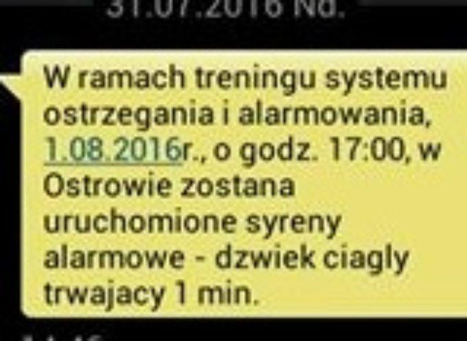 Dziwny SMS od miasta – o syrenach w rocznicę wybuchu Powstania Warszawskiego