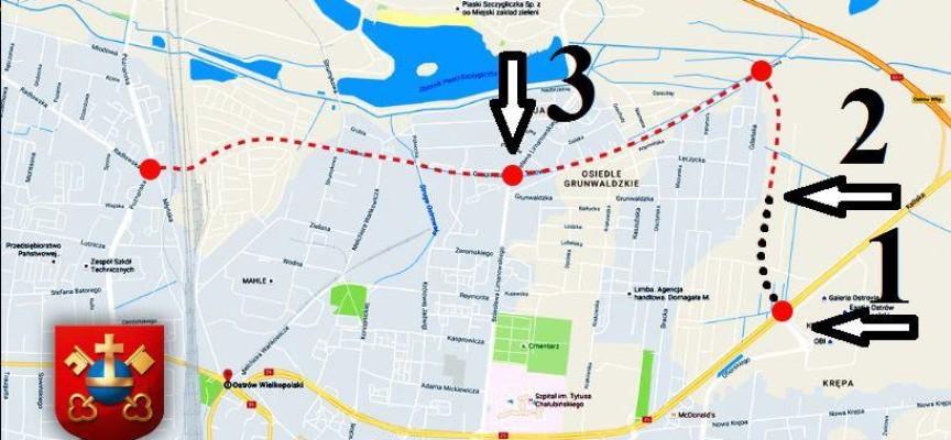 Zamiast Ramy Komunikacyjnej – wniosek na odcinek od Kaliskiej do Grunwaldzkiej