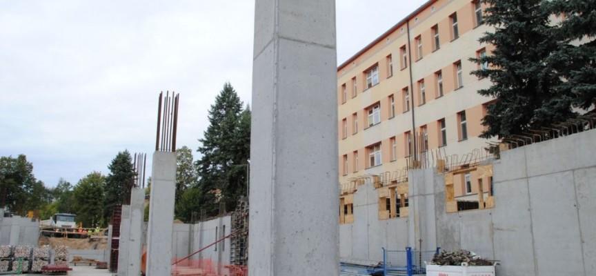 Powstaje nowe skrzydło szpitala