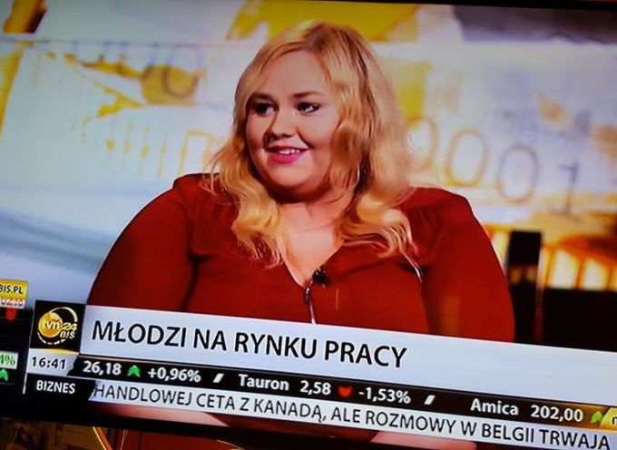 Radna PO Milena Kowalska w TVN