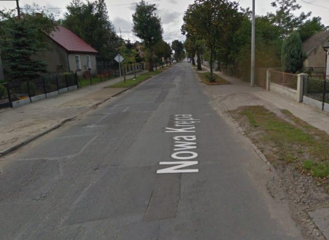 Ślimacze tempo modernizacji ul. Nowa Krępa