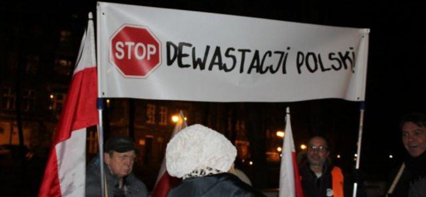 Marsz obywatelski w Kaliszu