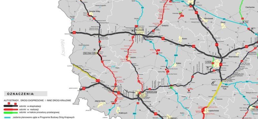 Jest wykonawca dokumentacji drogi Ostrów-Kalisz-Konin
