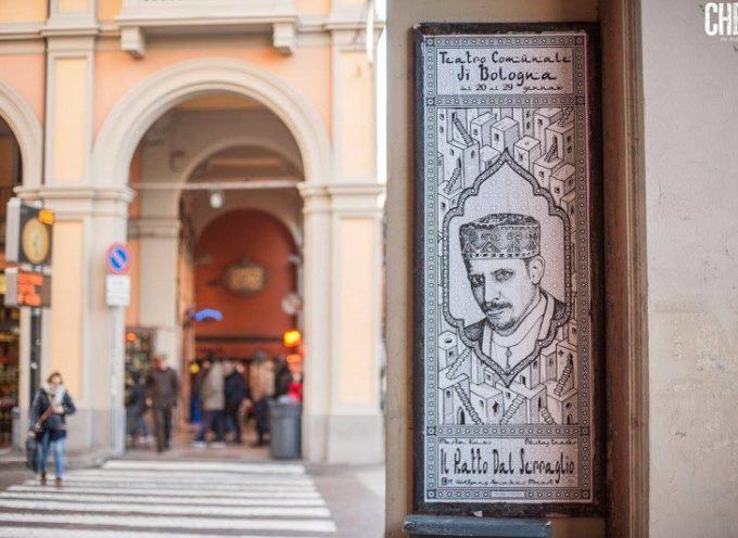 Prace Janusza Jurka na bolońskich ulicach