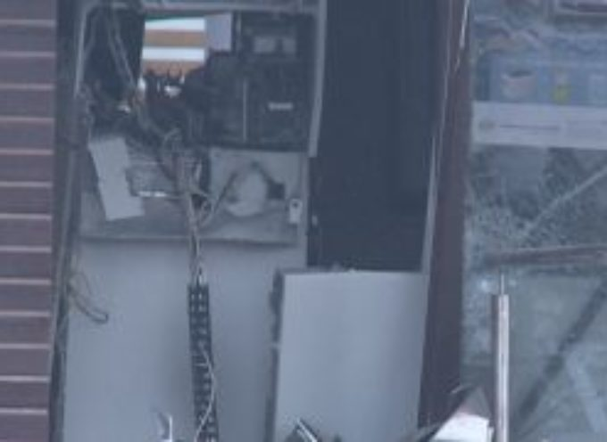 Wysadzili bankomat w Dobrzycy