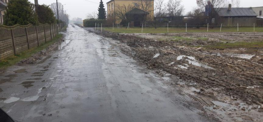 Mieszkańcy ul. Gajowej apelują o wizję lokalną – bubel zamiast remontu drogi