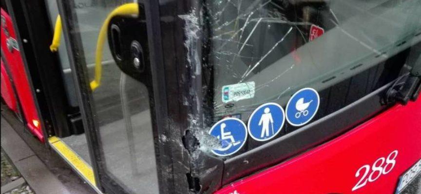 Nowy autobus MZK po pierwszej kolizji