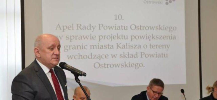 Apel z powiatu ostrowskiego do władz Kalisza