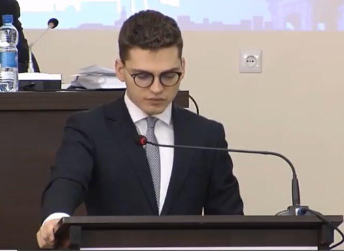 Radny Jakub Paduch pyta o drona i zakupy węgla przez OZC SA