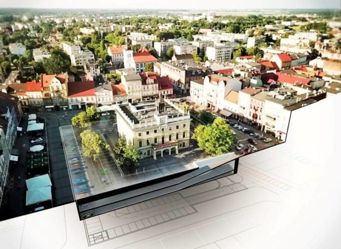 Grzeszczyk proponuje – podziemny parking, więcej mniejszych autobusów i nowoczesny system parkowania