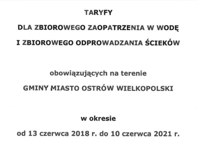Drożej za wodę i ścieki w Ostrowie Wielkopolskim – od czerwca 2018