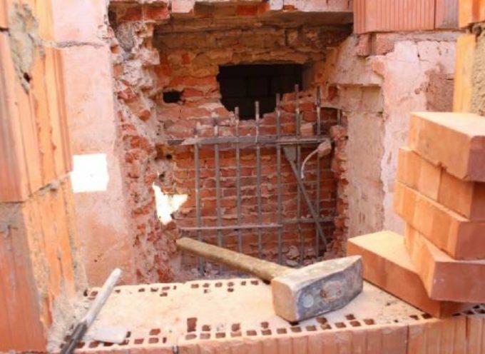 Zabytkowa krata z 1863 roku odkryta w areszcie