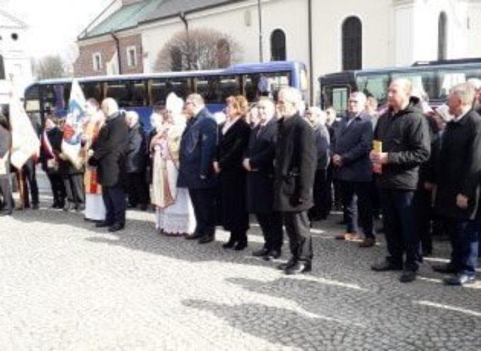 Sołtysi z Gminy Kępno na III Pielgrzymce do Sanktuarium Św. Józefa