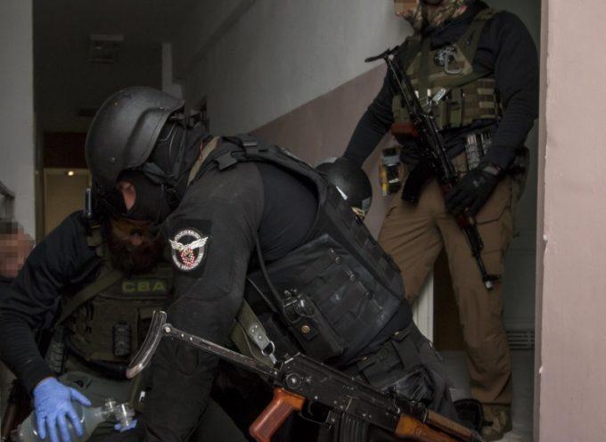 Mocne ćwiczenia kaliskiej policji
