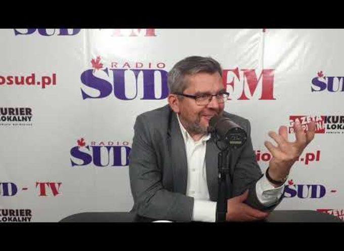 Rozmowa z posłem Jarosławem Urbaniakiem w Radio SUD