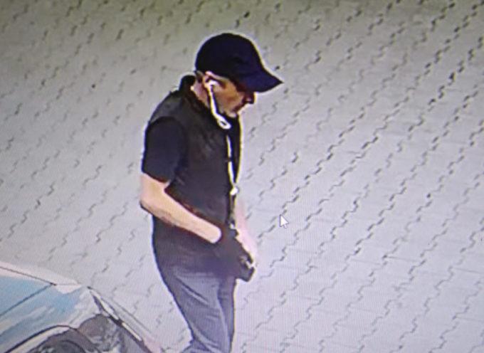 Poszukiwany złodziej-wandal