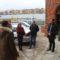 Elewacja frontowa dworca w Nowych Skalmierzycach gotowa