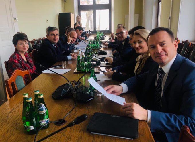 Poseł Urbaniak w ważnym parlamentarnym zespole