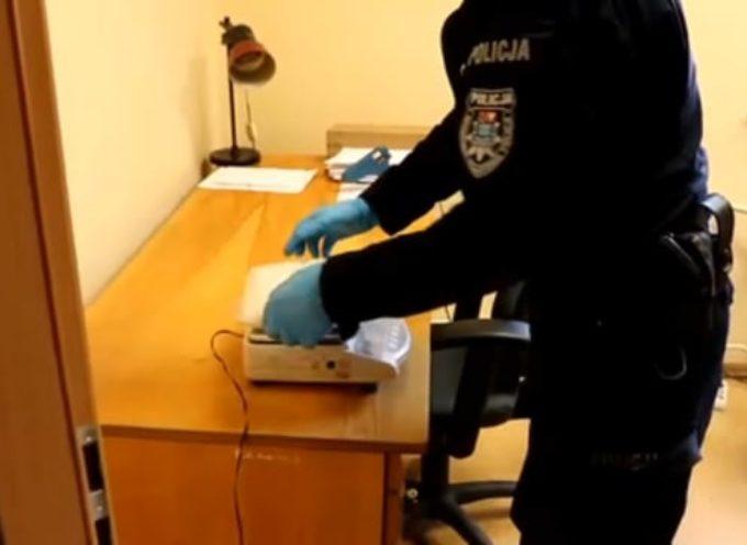 Kilogram amfetaminy w Zdunach