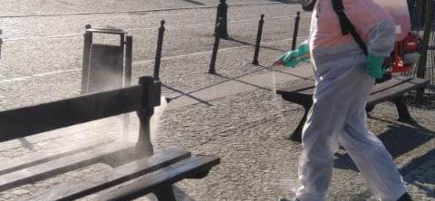 W Krotoszynie – akcja odkażanie