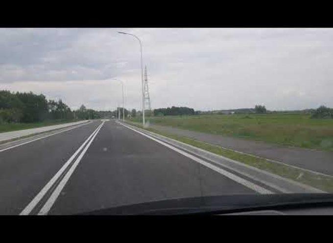 Kilkaset metrów drogi otwarte