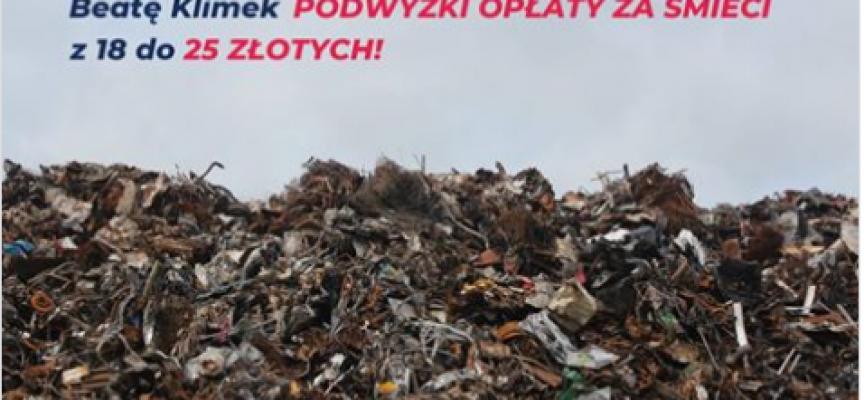 Śmieci w Ostrowie ostro w górę