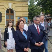 Małgorzata Kidawa-Błońska w południowej Wielkopolsce