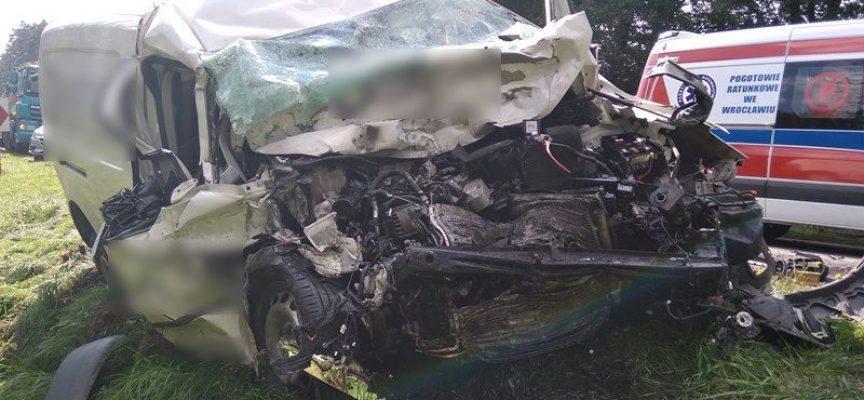 Krotoszynianin ranny w wypadku pod Miliczem